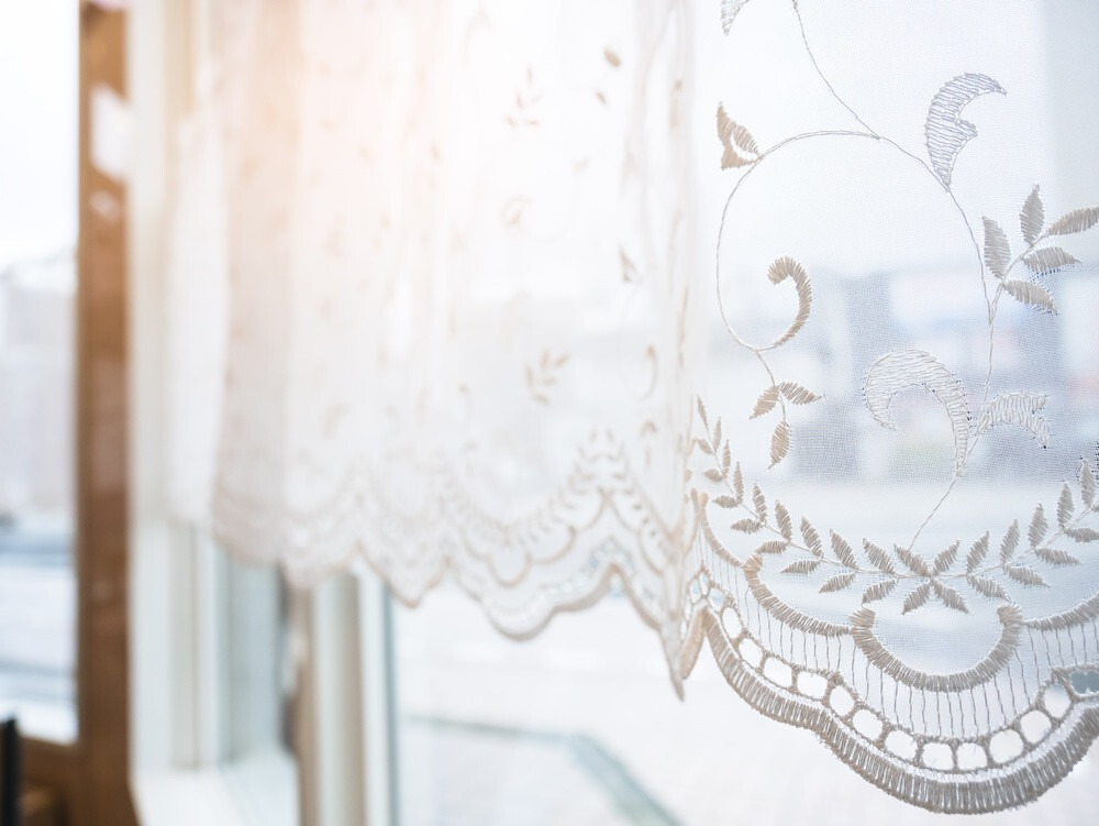 Lace Swag Curtains