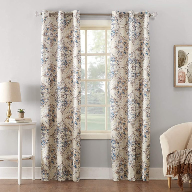 Sun Zero Cooper Floral Thermal Curtains